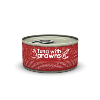 Naturea Wetfood Tuna with Prawns 80 gr