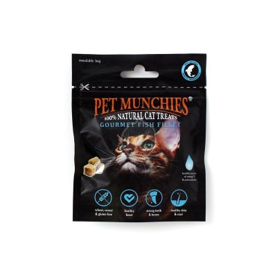 Pet Munchies Gourmet Filetes de Peixe